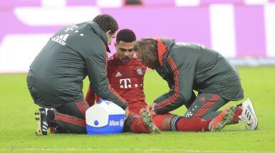 Serge Gnabry wypadł ze składu Bayernu na mecz z Eintrachtem