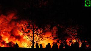 Po pożarze Wrocław kontroluje składowiska odpadów.