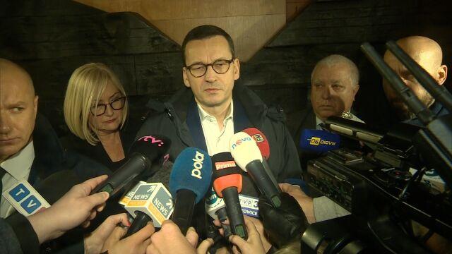 Morawiecki: 12 górników, którzy zginęli w kopalni w Karwinie ma polskie obywatelstwo