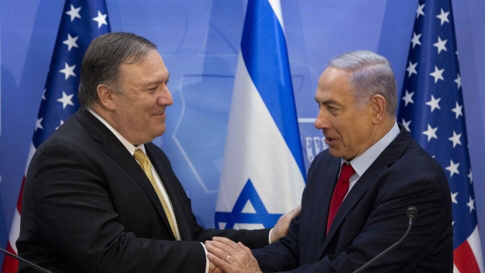 Pompeo w Jerozolimie chwali relacje USA z Izraelem i krytykuje Iran