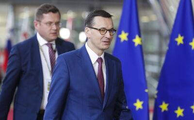 Morawiecki: uniknęliśmy pewnego postawienia Wielkiej Brytanii pod ścianą