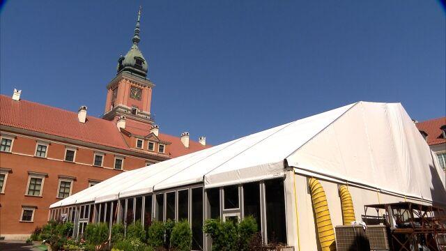 Kancelaria prezydenta przeznaczyła milion złotych na wynajem namiotu