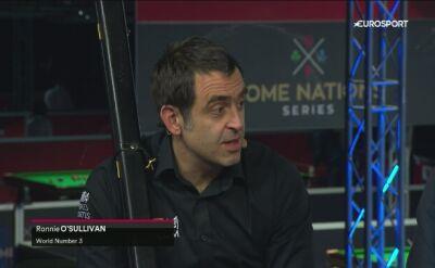 O'Sullivan po awansie do trzeciej rundy Scottish Open