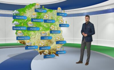 Prognoza pogody na środę 11.12