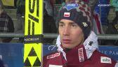 Kamil Stoch po kwalifikacjach w Klingenthal