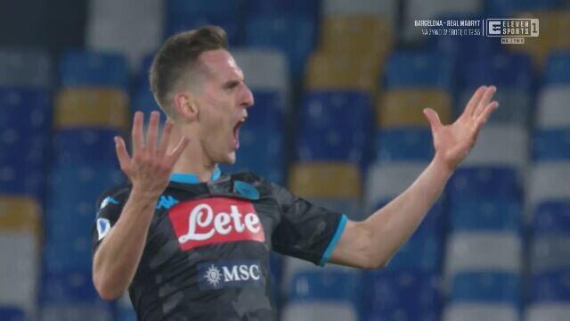 Milik strzelił gola Parmie