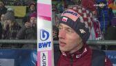 Dawid Kubacki po kwalifikacjach w Klingenthal
