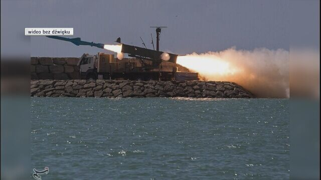 Ćwiczenia rakietowe irańskiej marynarki, luty 2019