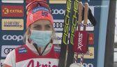 Therese Johaug po zwycięstwie w Ruce