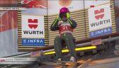 Skok Anny Twardosz z kwalifikacji na dużej skoczni na MŚ w Oberstdorfie