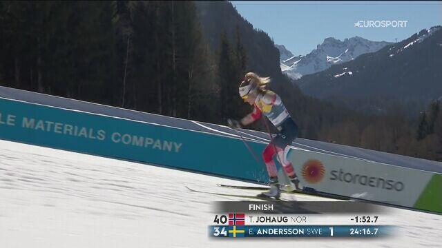 Therese Johaug wygrała bieg na 10 km na MŚ w Oberstdorfie