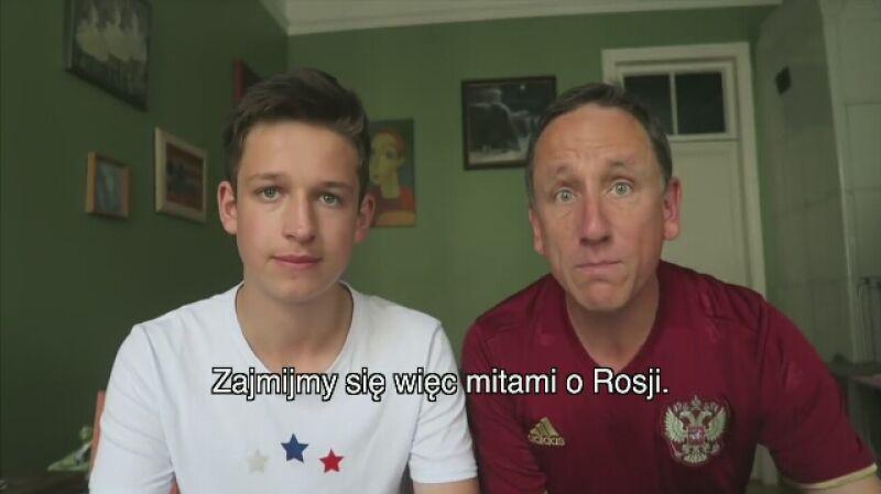 """Theo z tatą obalają """"mity o Rosji"""""""
