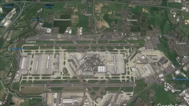 Lotnisko Heathrow w Londynie zawiesiło loty