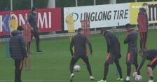 Cristiano i Morata imponują szybkością i kontrolą piłki na treningu Juve