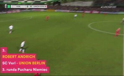 TOP 3 bramek z pierwszych 4 rund Pucharu Niemiec