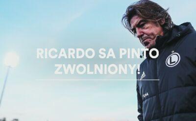 Ricardo Sa Pinto zwolniony z Legii Warszawa