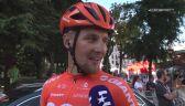 Szymon Sajnok po 14. etapie Vuelty