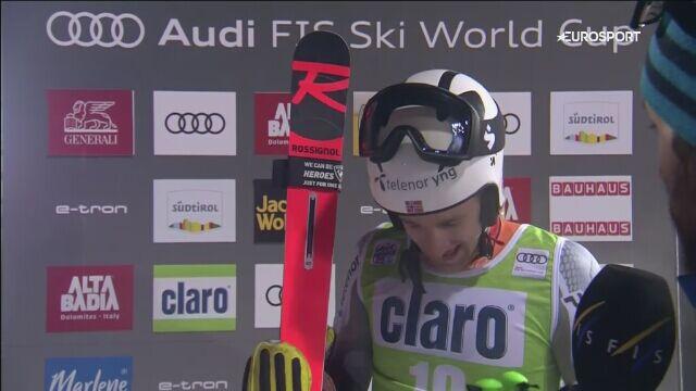 Wywiad z Rasmusem Windingstadem po jego zwycięstwie w Alta Badia