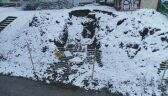 Zapadlisko w Jaworznie - film z drona