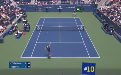 US Open: Dziesięć najlepszych pudeł