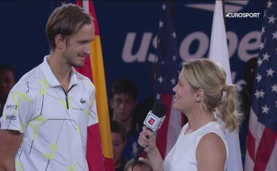 Przemowa Daniiła Miedwiediewa po przegranym finale US Open 2019