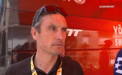 Wadecki przed 13. etapem TdF: liczymy na dobry wynik Rosskopfa