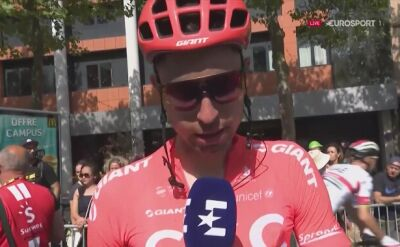 Łukasz Wiśniowski po 10. etapie Tour de France