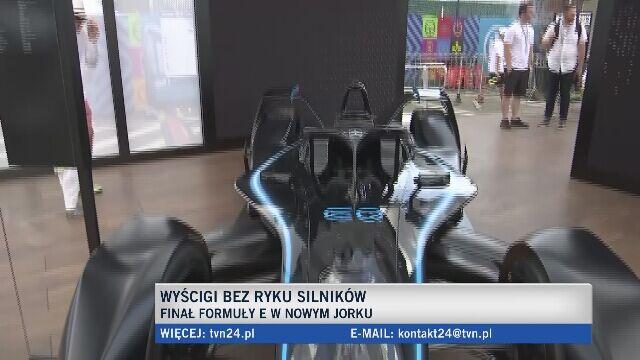 Formuła E - wyścigi bez ryku silników