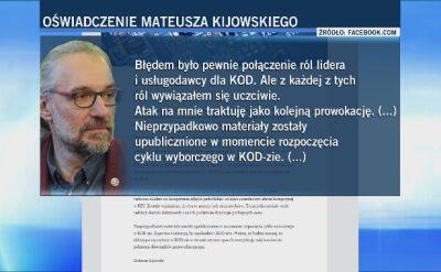 Media: 90 tys. zł ze zbiórek publicznych KOD trafiło do firmy Kijowskiego. Ten wydaje oświadczenie