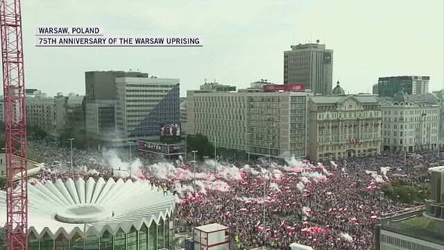 "The city of Warsaw marked the ""W"" Hour. On August 1, 1944, exactly at 5 pm, the Warsaw Uprising broke out"
