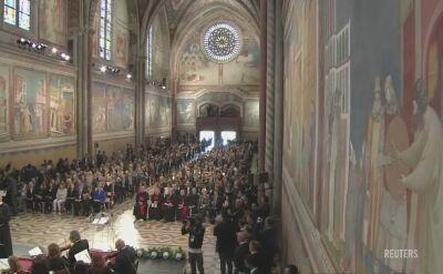 Merkel otrzymała w Asyżu Lampę Pokoju Świętego Franciszka