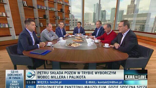 Ryszard Petru zapowiedział złożenie pozwu przeciwko Leszkowi Millerowi i Januszowi Palikotowi