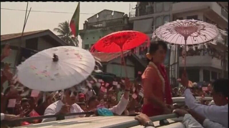 Aung San Suu Kyi wygrała wybory w Birmie
