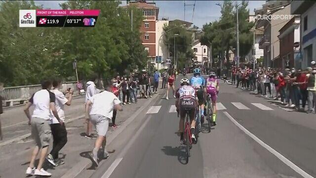 Słoneczny Patrol na trasie 7. etapu Giro