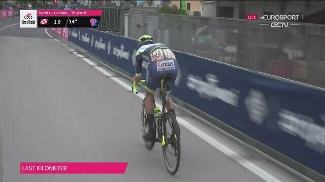 Taco van der Hoorn wygrał 3. etap Giro d'Italia