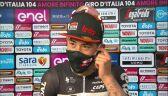 Caleb Ewan po wygraniu 5. etapu Gito d'Italia