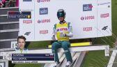 Rekordowy skok Tilena Bartola z pierwszej serii konkursu w Zakopanem