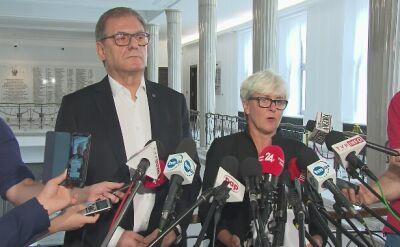 """Wniosek o specjalne posiedzenie komisji w sprawie Kosteckiego. """"Sprawa bezpieczeństwa państwa"""""""