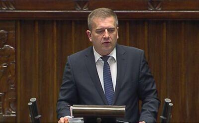Minister zdrowia przedstawia plany resortu
