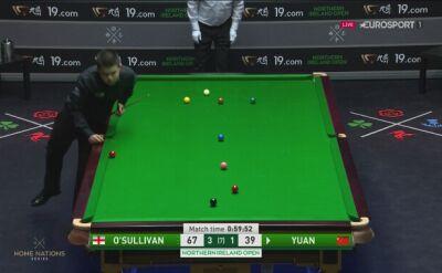 Wygrał O'Sullivan, ale zagranie tygodnia należy do Yuana Sijuna
