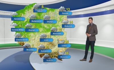 Prognoza pogody na środę 13.11