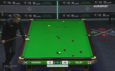 Mark Selby myślał nad uderzeniem sześć minut, a potem i tak spudłował