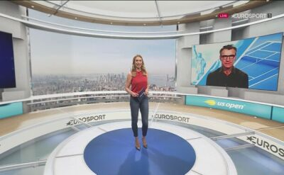 Eksperci Eurosportu o meczu Williams - Pironkowa w ćwierćfinale US Open
