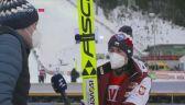 Kamil Stoch po niedzielnym konkursie w Klingenthal
