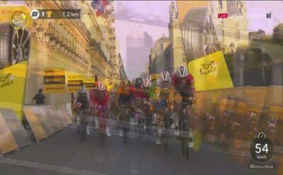 Sam Bennett wygrał 21. etap Tour de France