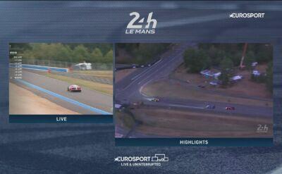 Najważniejsze wydarzenia poranka z 24h Le Mans