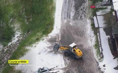 Nieoczekiwany koniec 19. etapu Tour de France