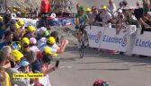 Peter Sagan w spektakularnym stylu kończył 14. etap