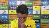 Emocje wzięły górę. Łzy nowego lidera Tour de France