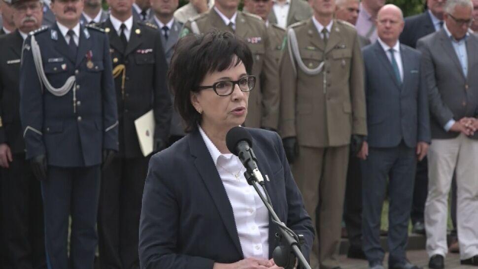 Minister Witek: atak na mundur, na policjanta, jest atakiem na państwo polskie